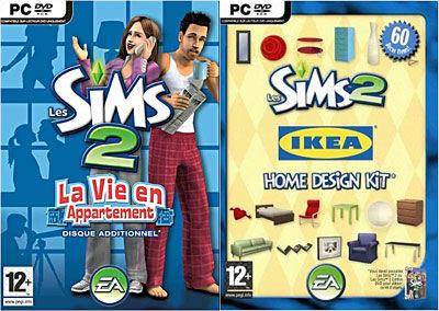 Electronics Arts Les Sims 2 : La Vie en Appartement + Le Kit Ikea - PC