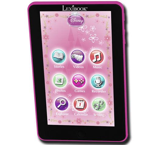 lexi tablette tactile enfant lexibook kids tablet disney princess - tablette éducative