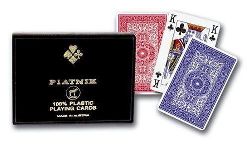 Gibsons Games Gibsons - Piatnik - Cartes 100% plastique cartes à jouer - Langue: anglais - Jeu de cartes