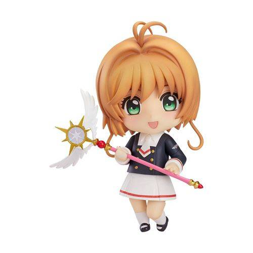 Good Smile Company Cardcaptor Sakura Clear Card - Figurine Nendoroid Sakura Tomoeda Junior High Uniform Ver. 10 cm - Moyenne figurine