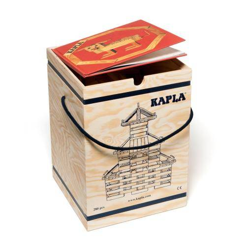 Kapla Jeu de construction en bois Kapla 280 planchettes - Autre jeu de construction