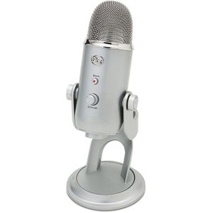 Blue Microphones Microphone Blue Microphones YETI SILVER - Publicité