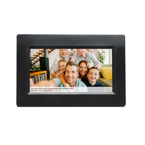 Frameo Cadre photo numérique Frameo Denver PFF-710 noir - Publicité