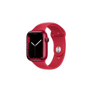 Apple watch Apple Watch Series 7 GPS + Cellular, boîtier Aluminium (PRODUCT)RED 45mm avec Bracelet Sport (PRODUCT)RED - Publicité