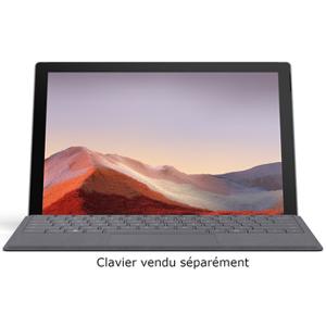 Microsoft SURFACE PRO 7 PLATINE i5, 8Go RAM, 128Go