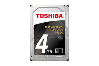 "Toshiba DISQUE DUR INTERNE 3.5"" 4 TO N300 ARGENT/OR"