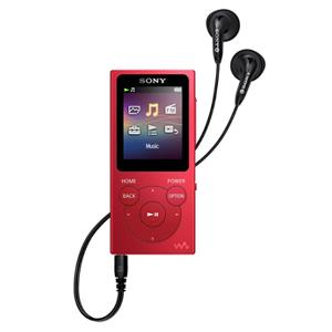 Sony NWE394R rouge