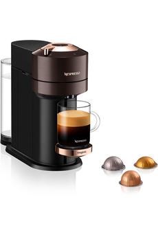 Magimix Nespresso Vertuo Next Premium Marron 1,1L Finitions chromées 11708