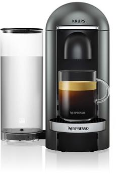 Krups Nespresso Vertuo Plus Titane 1,8L Finitions chromées Krups YY2778FD