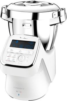 moulinex robot cuiseur multifonction connecté i-companion xl fouet et decoupe legumes 1550w