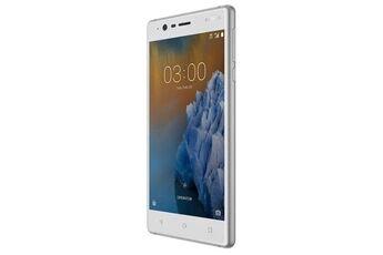 "Nokia 3 smartphone double sim 4g lte 16 go microsdxc slot gsm 5"" 1 280 x 720 pixels ips ram 2 go 8 mp (caméra avant de 8..."