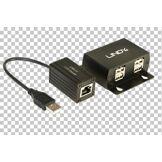 Lindy Kit extender USB 2.0 4 ports cat.5 STP 50m