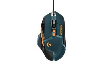 Logitech g502 hero league of legends souris gaming 16000dpi orange