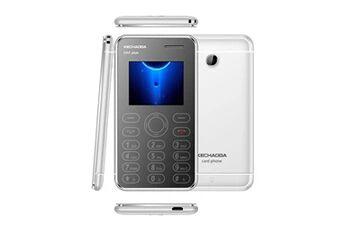 Kechaoda k66plus ultra-slim cell phone credit card size dual sim unlocked gsm m5 argent