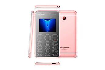 Kechaoda k66plus ultra-slim cell phone credit card size dual sim unlocked gsm m5 rose