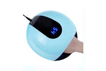 yokuli 80 w led lampe thermostat protection pour séchoir à ongles puce tous les gels polonais écran lcd outils d'art d'ongle