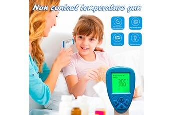generic thermomètre frontal  medical hospital grade noncontact digital infrared temporal forehead