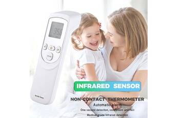 thermomètre médical corps infrarouge précis oreille front lcd lcd mesure