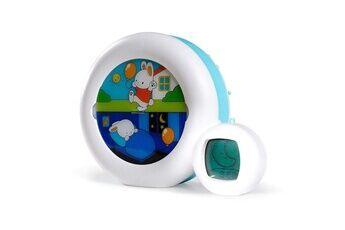 Claessen's Kid Claessens 'kid - moon 3 en 1 (veilleuse, indicateur & réveil) - reveil musical enfant educatif jour / nuit lumineux - blanc