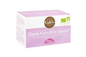 Gifrer Tisane allaitement 20 sachets fr rouges