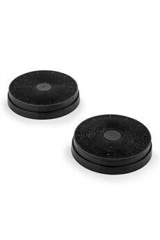 KLARSTEIN [occasion] -  lot de 2 filtres à charbon actif pour hotte aspirante ø17,5 cm
