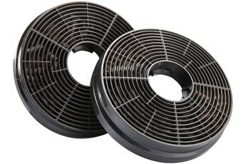 Ciarra Cp100 filtre à charbon actif - 2pcs - accessoires de hotte de cuisine - filtre de remplacement pour extracteur d'air