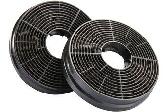 Ciarra Cp120 filtre à charbon actif - 2pcs - accessoires de hotte de cuisine - filtre de remplacement pour hotte aspirante à recyclage