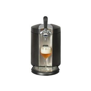 Kitchen Chef Machine à bière - système bière pression avec fût 5 l - température réglable-inox noir