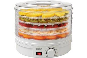 ecg so 375 - déshydrateur de fruits - 5 plateaux - 250w - ventilateur