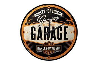 Harley Davidson Pendule rétro harley davidson 30 cm