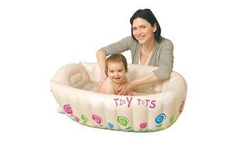 Jilong Baignoire gonflable pour les enfants jusqu'à 12 mois avec thermomètre 017118npf