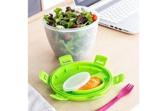 Euroweb Boîte à salade lunch box 2 l - boite à repas avec couverts