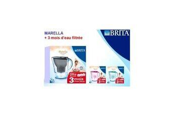 BRITA Carafe Marella Menthe 2.4L + 3 mois d'eau filtré Réf. 1017416