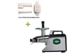 Tribest Pack promo tribest greenstar elite gse5000 chromé + kit à pâtes - extracteur de jus horizontal