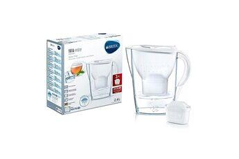 Brita Carafe filtrante 2.4l blanche avec 4 cartouches maxtra+ - brita - 1026038