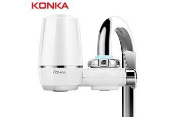 Yokuli Purificateur d'eau du robinet de cuisine lavable en céramique percolateur filtre à eau filtro
