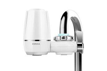 Yokuli Mini purificateur d'eau du robinet de cuisine lavable en céramique percolateur filtre à eau filtro