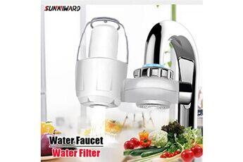Yokuli Robinets d'eau de cuisine filtre lavable robinets purificateur d'eau du robinet filtro