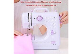 Generic Petite machine à coudre domestique machine à coudre multifonctionnelle à verrouillage électrique us produits de couture ménagers 241