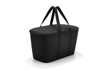 reisenthel glacière avec fermeture zippée 20l compatible avec carrybag coolerbag - black