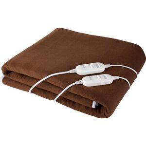 Ecg ed 140 hn - couverture chauffante électrique 140 x 160 cm - 2 niveaux de réglage température