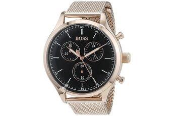 Hugo Boss Montre homme hugo boss companion 1513548 or rose