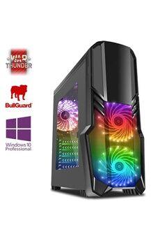 Vibox Pegasus 40 pc gamer ordinateur, 2 jeux gratuits, windows 10 pro os (4,0ghz intel i5 6-core, nvidia geforce rtx 2070, 16gb 2133mhz ram, 1tb hdd)