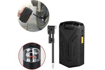 Generic Pompe à air électrique portable mini pneus gonfleur vélo vélo vélo moto inflator 35