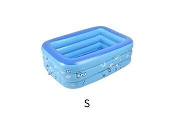 Pataugeoire enfants inflation famille piscine gonflable bébé océan boule de sable baignoire jouets carré @he095