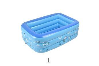 Pataugeoire enfants inflation famille piscine gonflable bébé océan boule de sable baignoire jouets carré @he096