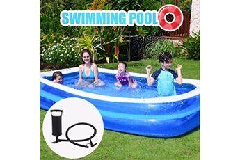 Pataugeoire enfants inflation famille piscine gonflable bébé océan boule de sable baignoire jouets carré @he168