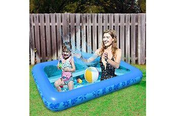 Pataugeoire enfants inflation famille piscine gonflable bébé océan boule de sable baignoire jouets carré @he2851
