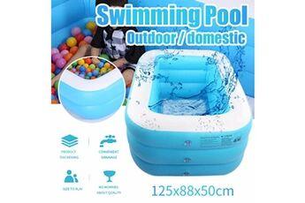 Pataugeoire enfants inflation famille piscine gonflable bébé océan boule de sable  baignoire jouets carré @he153