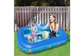 Pataugeoire enfants inflation famille piscine gonflable bébé océan boule de sable baignoire jouets carré @he2852
